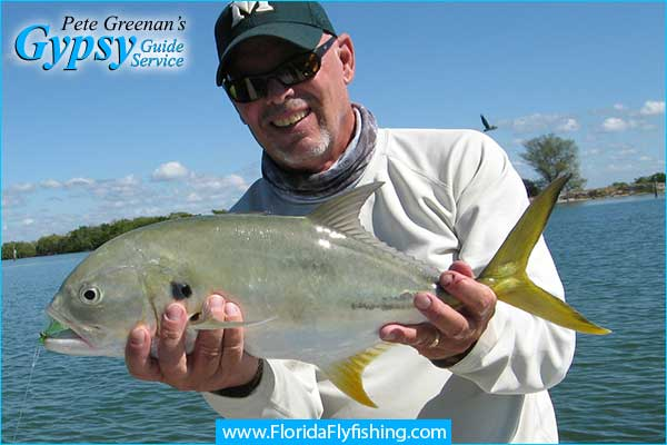 Jack Crevalle caught fly fishing